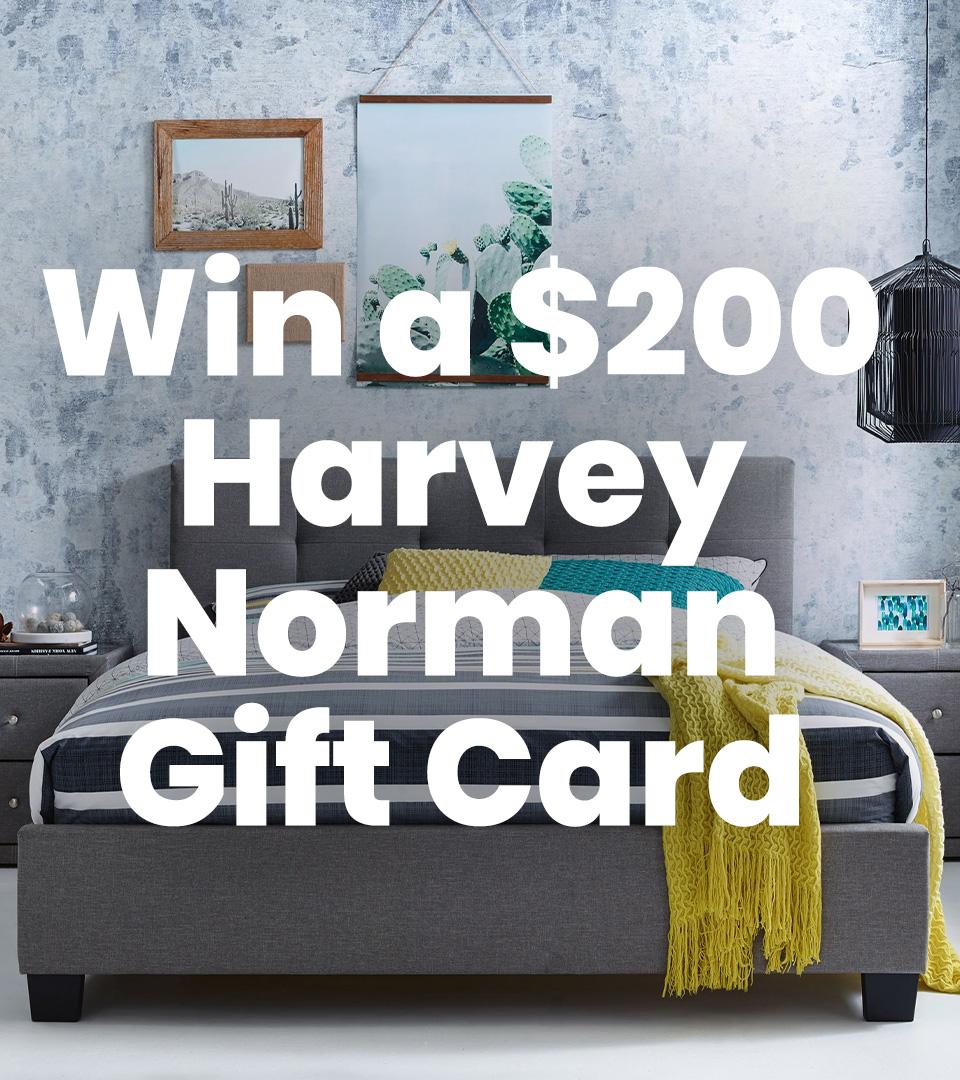 $200 Harvey Norman Gift Card